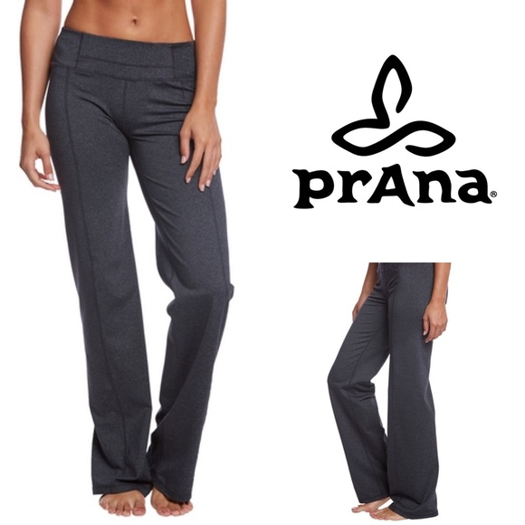 Prana Pants Jumpsuits Nwt Yoga Pants In Gray Short Inseam Size S Poshmark